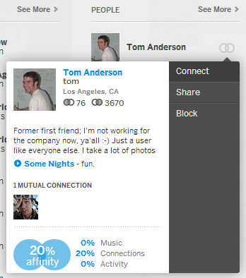 Update Format on the New Myspace